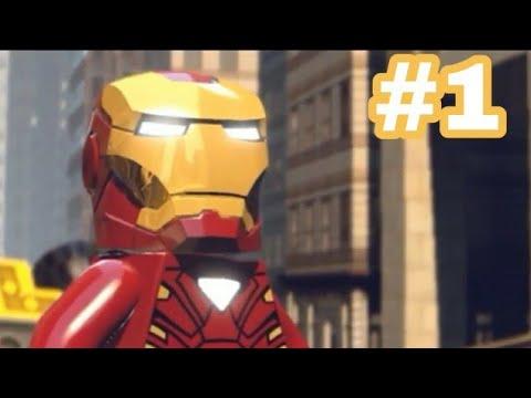 """🔴Прохождение LEGO MARVEL SUPERHEROES на Android #1: Глава """"Центральный Вокзал"""""""