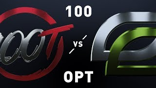 100 vs OPT - LCS Week 5 Day 1 Match Highlights (Spring 2019)