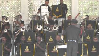 Indian army band playing  a song