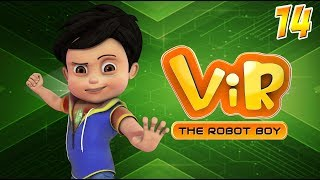 Vir: The Robot Boy | Hindi Cartoon Series For Kids | Go Cart Race | Action Cartoons | Wow Kidz