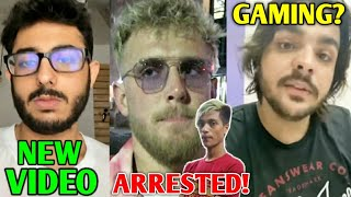 CarryMinati New Video | Jake Paul In HUGE TROUBLE (FBI Involved), TikToker Arrested, MortaL, Ashish