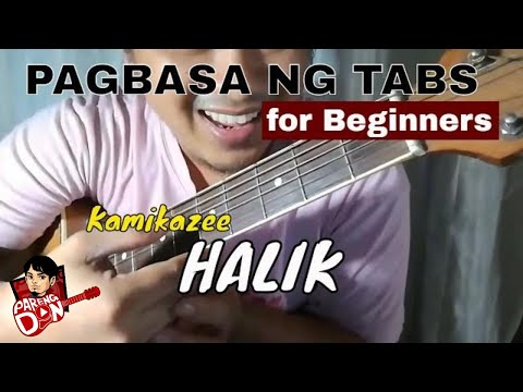 how to read guitar tabs tagalog