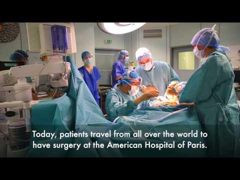 500 ème thyroïdectomie à l'Hôpital Américain de Paris - 500th robot-assisted thyroid surgery.