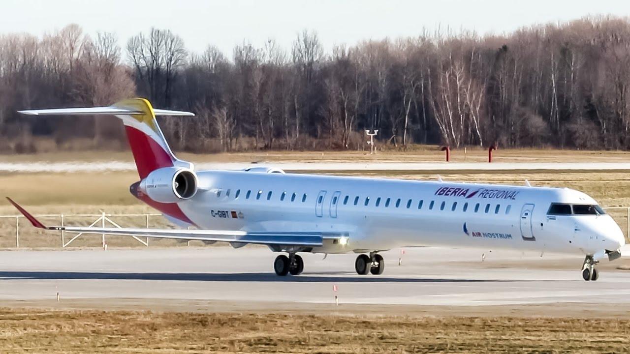 Resultado de imagen para Air Nostrum Iberia Regional CRJ