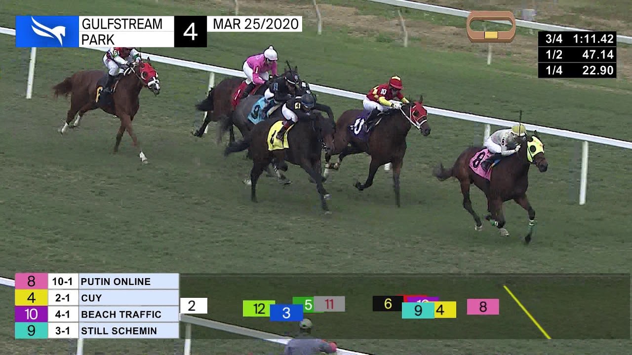Gulfstream Park Replay Show | March 25, 2020