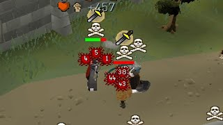 Overpowered 50 Attack Piety 1 Hit Rushing