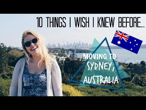 10 Things I Wish I Knew Before...Moving To Australia | Elisabeth Beemer