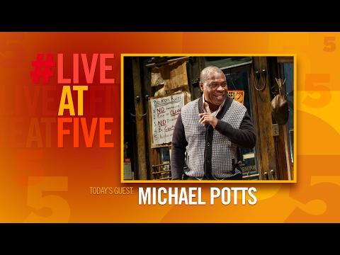 Broadway.com LiveatFive with Michael Potts of JITNEY