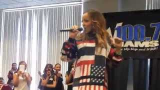 tinashe performs 2 on at v100 7 s family affair expo 2014