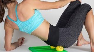 Yoga instructor Noel Phillips on tennis ball massage