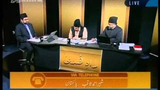 Is the descent of a Messiah mentioned in the Holy Qur'an-persented by khalid Qadiani.flv