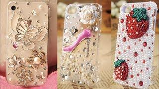 15 Amazing DIY Phone Case Life Hacks! Phone DIY Projects Easy - LUXURY PHONE CASE