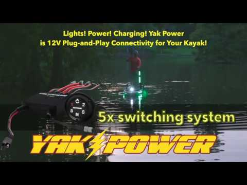 Yak Power Kayak 12v Plug-and-Play Electrical System on