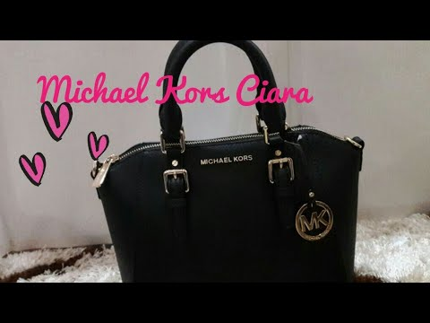 36402b843cb4 Michael Kors Ciara Medium Satchel - YouTube