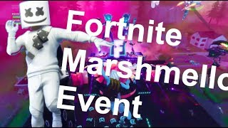 Fortnite Marshmello Concert COMPLETE Footage | Marshmallow Event Fortnite Battle Royale