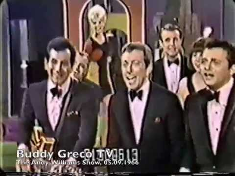 Buddy Greco, Andy Williams & Trini Lopez, The Andy Williams Show, 05.09.1966