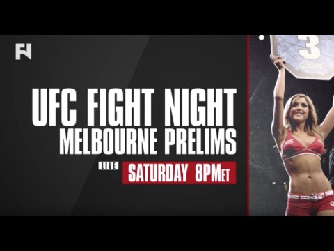 UFC Melbourne Prelims LIVE Sat., Nov. 26, 2016 At 8 P.m. ET On Fight Network Canada