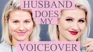 HUSBAND DOES MY VOICEOVER | Milabu