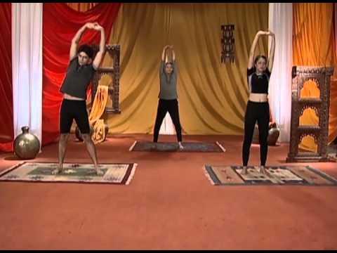 triyak tadasana yoga for beginners in deutsch  youtube