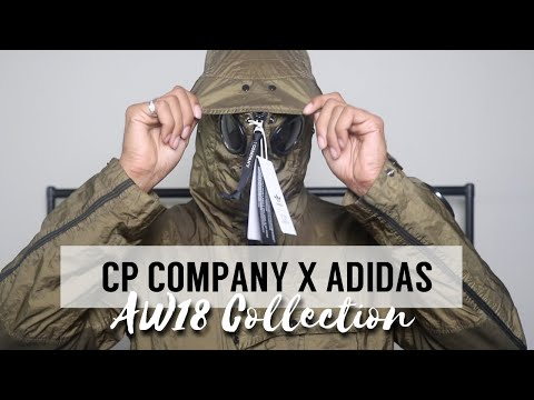 WHAT I THINK OF THE NEW  CP COMPANY X ADIDAS COLLECTIONS | UNBOXING + REVIEW