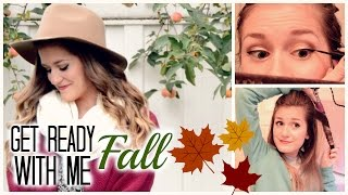 Get Ready With Me: Fall Makeup, Hair And Outfit 2014! Thumbnail