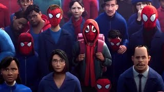 Spider-Man: Into The Spider-Verse - Death of Spider-Man Scene (Full HD)