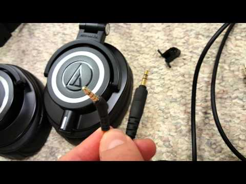 Review: Audio-Technica ATH-m50x Needs Modification!