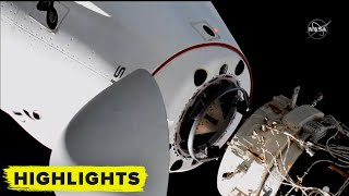 SpaceX Crew Dragon Relocates at ISS! (Full Maneuver)