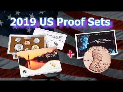 2019 USA Proof Coin Set Released By US Mint Along With 2019 W Penny Coin