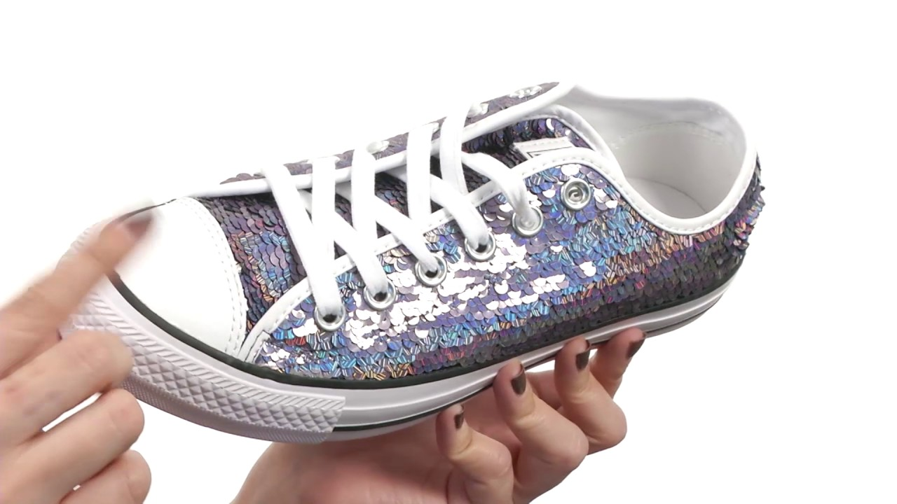 Converse Chuck Taylor® All Star® Holiday Party Ox SKU 8752142 - YouTube 37cf3b429