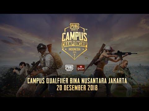 PUBG Mobile Campus Championship - Binus University Jakarta