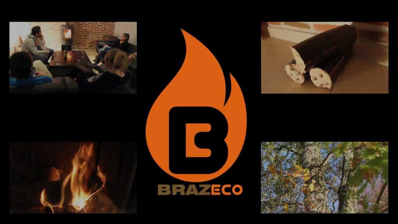le bois de chauffage compress brazeco youtube. Black Bedroom Furniture Sets. Home Design Ideas