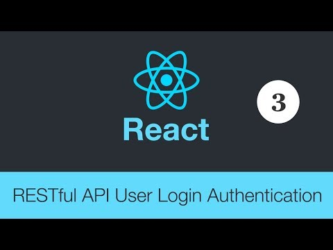 React JS and PHP Restful API User Authentication for Login