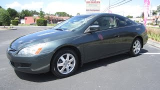 SOLD 2005 Honda Accord EX-L Coupe V6 VTEC Meticulous Motors Inc Florida For Sale