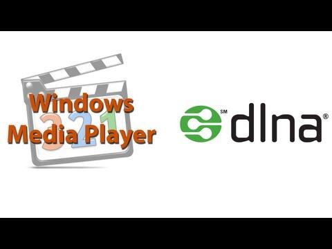 DLNA im Windows Media Player aktivieren (Windows 7) [Deutsch]
