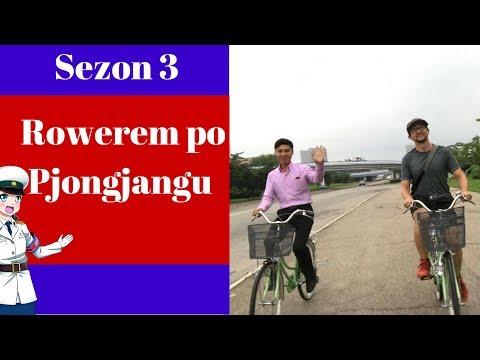 Przejazd rowerem po Pjongjangu w Korei Północnej - GoPro5
