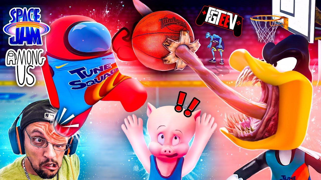 Download AMONG US एक स्पेस जैम नॉस्टेल्जिया ट्रिप डाउन लूनी टून्स मेमोरी लेन है (FGTeeV चाइल्डहुड गेम्स मैशअप)