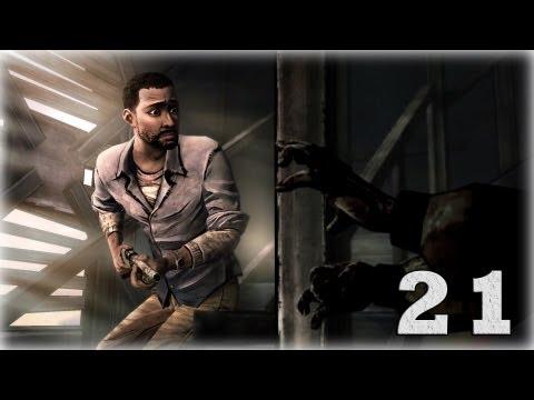Смотреть прохождение игры The Walking Dead: Episode 5. Серия 21 - Ты знаешь кто я?