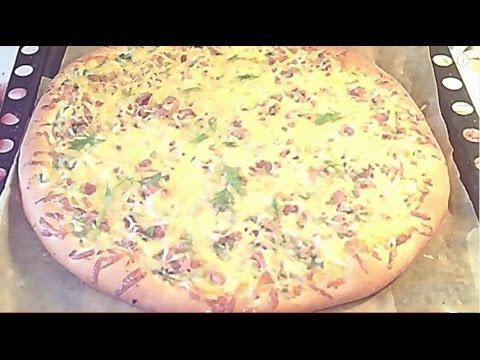 Тесто для пиццы на маргарине