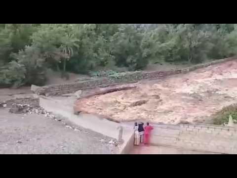 شاهد اقوى فيضانات ضربت المغرب
