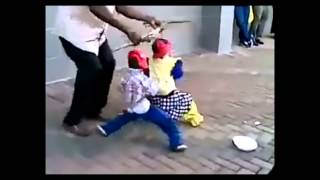 DOLLS DOING THE BEST RED NOSE DANCE EVER