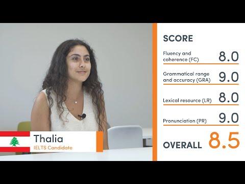 Band 8.5 IELTS Practice Speaking Exam (mock test) - Thalia from Lebanon/Australia 🇱🇧 🇦🇺