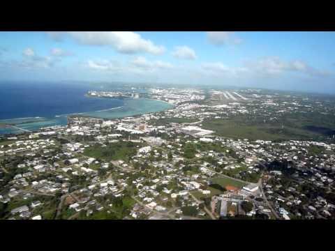Hagåtña (Agaña), Guam. Visual approach and takeoff runway 6R