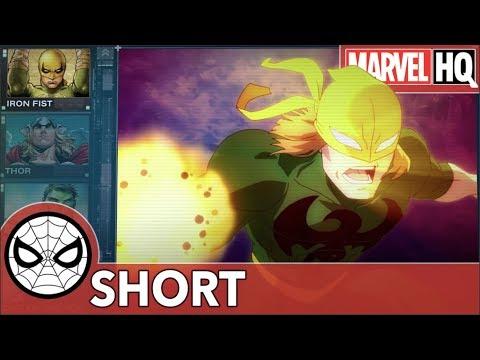 S.H.I.E.L.D. Report: Iron Fist | Fury Files - Iron Fist