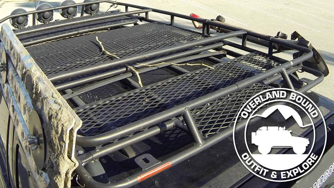 Overland Bound Roof Rack Review Youtube