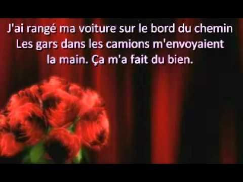 Issabelle Boulay - Entre Matane et Baton rouge (Lyrics)
