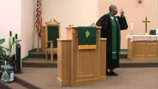 "Sermon ""Weak & Strong"" Preached @ 1st UMC College Station"