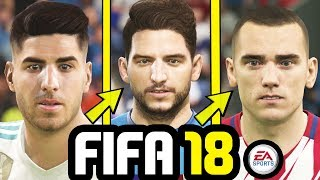 HOW TO GET THE NEW FACES IN FIFA 18 & FIFA 18 CAREER MODE - TUTORIAL