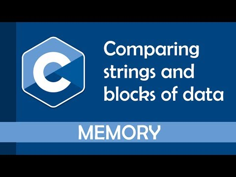 Comparing Strings In C