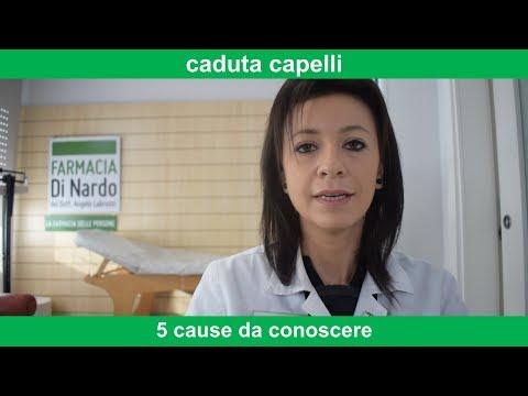 caduta capelli: 5 possibili cause